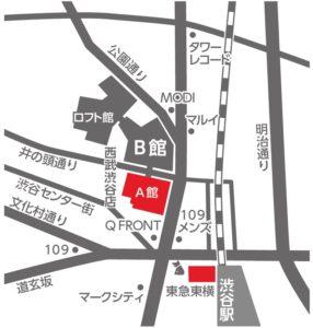 西武渋谷店地図